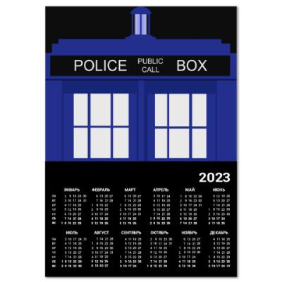 Календарь TARDIS Doctor Who