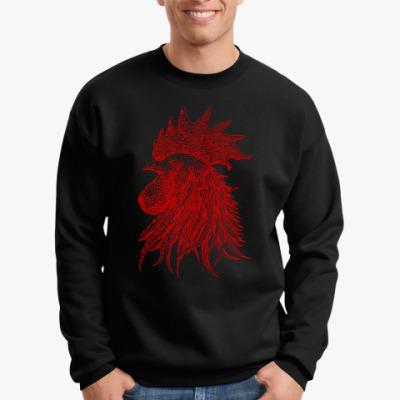 Свитшот Красный петух символ Года