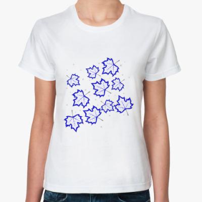 Классическая футболка Кленовые листья