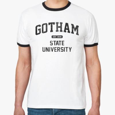 Футболка Ringer-T Gotham University