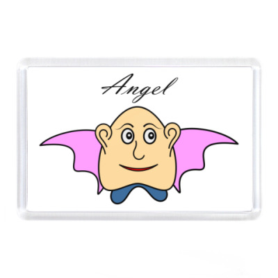 Магнит Ангелочек!
