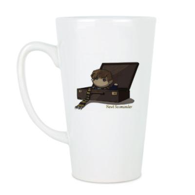Чашка Латте Newt Scamander