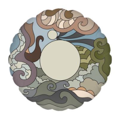 Подушка Абстрактный орнамент