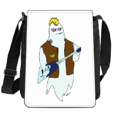 Сумка-планшет Призрак гитарист