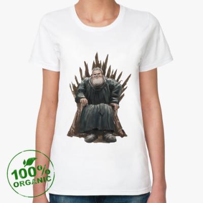 Женская футболка из органик-хлопка Игра Престолов: Ходор
