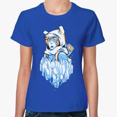 Женская футболка Hero and BMO