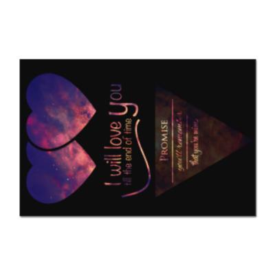 Наклейка (стикер) Признание в любви 14 февраля