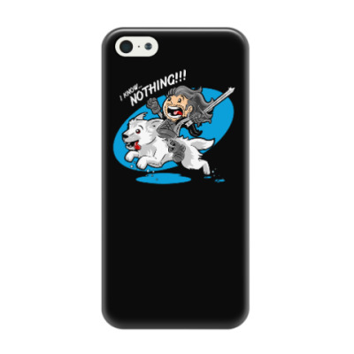 Чехол для iPhone 5/5s I know nothing!