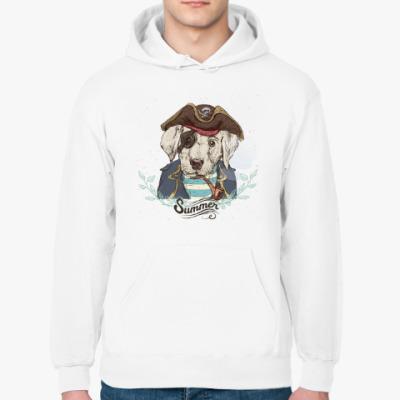 Толстовка худи Пиратская собака