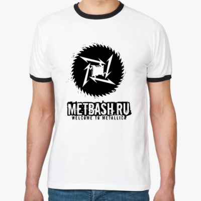 Футболка Ringer-T Metbash
