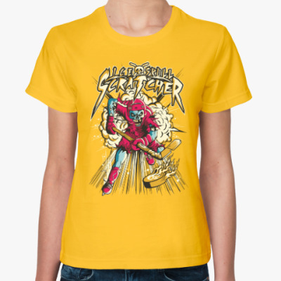 Женская футболка Зомби Хоккей!
