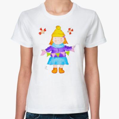 Классическая футболка Настроение всегда!