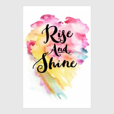 Постер Rise and Shine