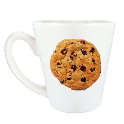Чашка Латте 'печенька'
