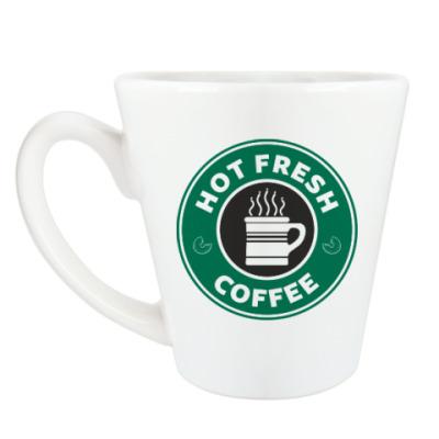 Чашка Латте HOT FRESH [NCIS]