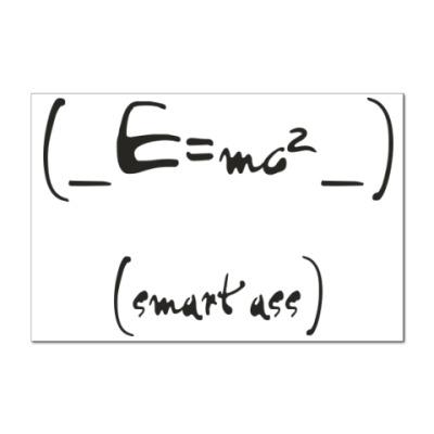 Наклейка (стикер) SMART ASS