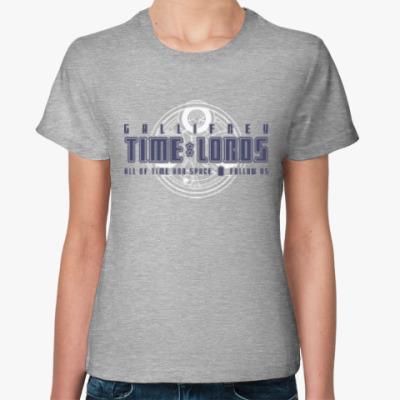 Женская футболка Gallifrey Time Lords