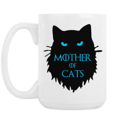 Кружка Mother of cats