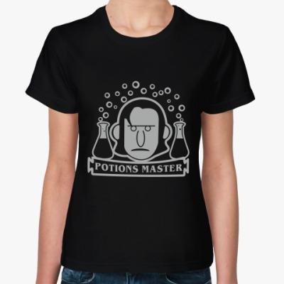 Женская футболка Мастер зелий