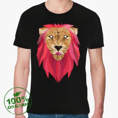 Футболка из органик-хлопка Лев / Lion