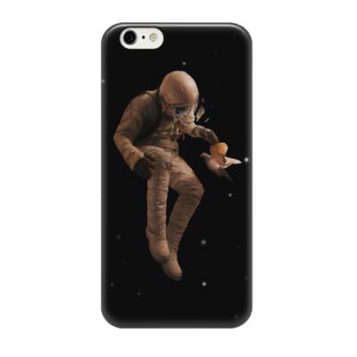 Чехол для iPhone 6/6s Космонавт с голубем