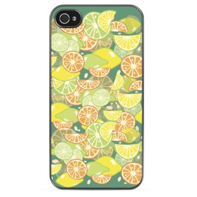 Чехол для iPhone Апельсиново-лимонный!