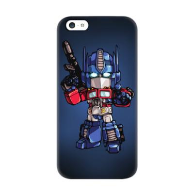 Чехол для iPhone 5c Optimus Prime