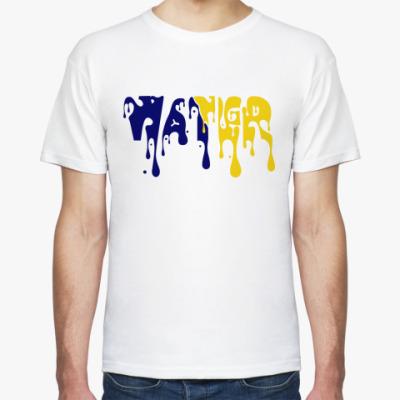 Футболка 'Water' Стекающая надпись