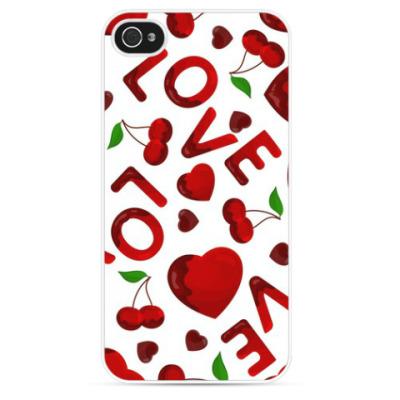 Чехол для iPhone Love