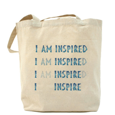 Сумка I am inspired & I inspire