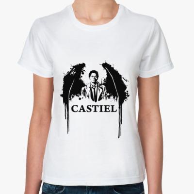 Классическая футболка Castiel
