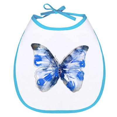 Слюнявчик Бабочка