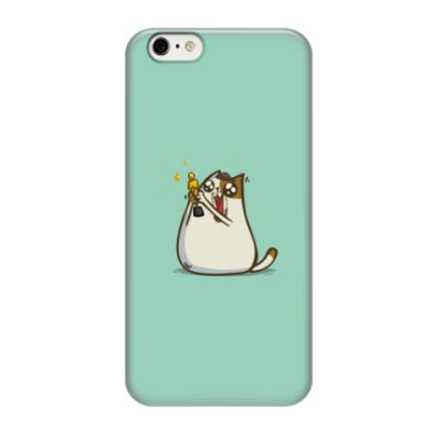 Чехол для iPhone 6/6s Котаприо — Пятничный Котик №45