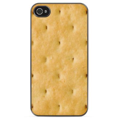 Чехол для iPhone Печенье Крекер