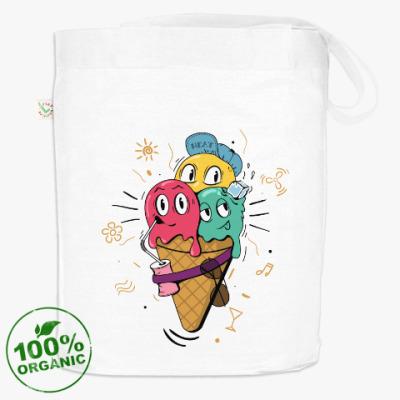 Смешные шарики мороженного