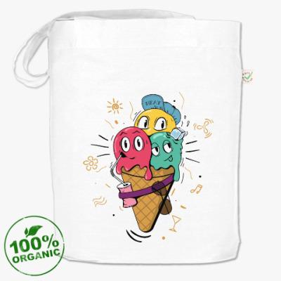 Сумка Смешные шарики мороженного