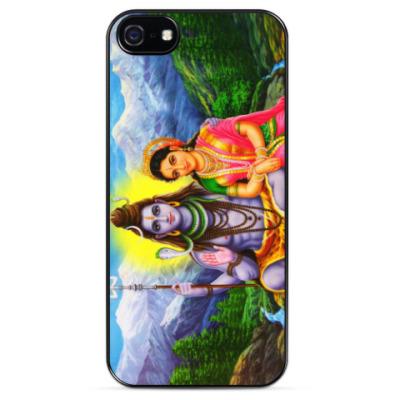 Чехол для iPhone Шива и Парвати