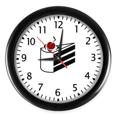 Настенные часы Тортик