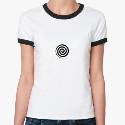 Женская футболка Ringer-T Гипнофутболка