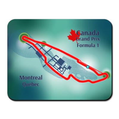Коврик для мыши Формула 1 Монреаль