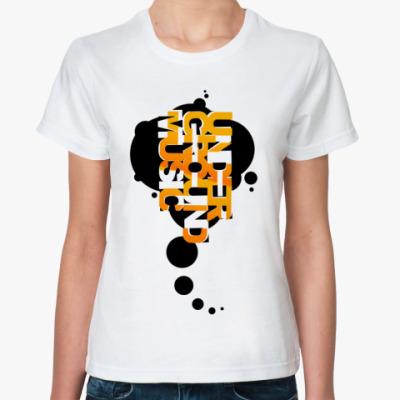 Классическая футболка  UNDER!