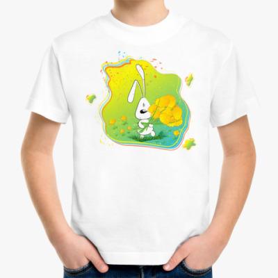 Детская футболка Заяц