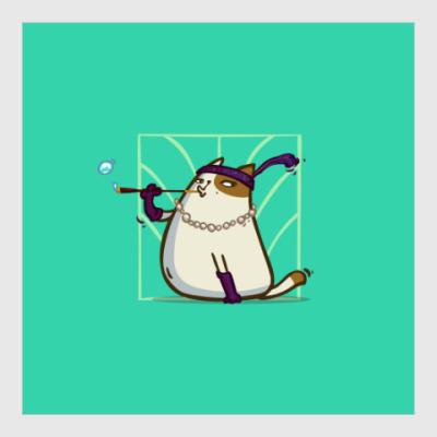 Постер Кэтсби — Пятничный Котик №33