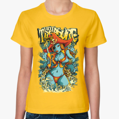 Женская футболка Горячее Сокровище