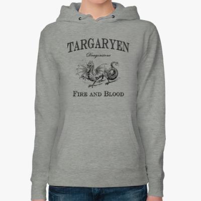 Женская толстовка худи Targaryen