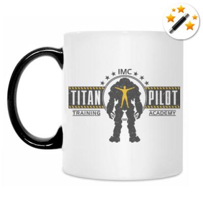 Кружка-хамелеон Battlefield Titan Pilot