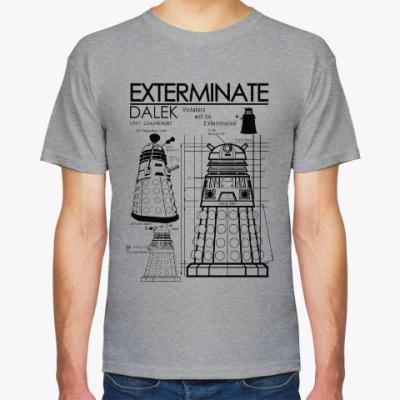 Футболка Dalek plan