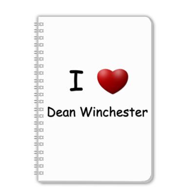 Тетрадь I Love Dean