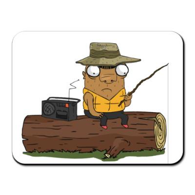 Коврик для мыши Шамиль-рыбак
