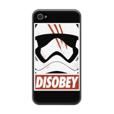 Чехол для iPhone 4/4s Star Wars: Disobey